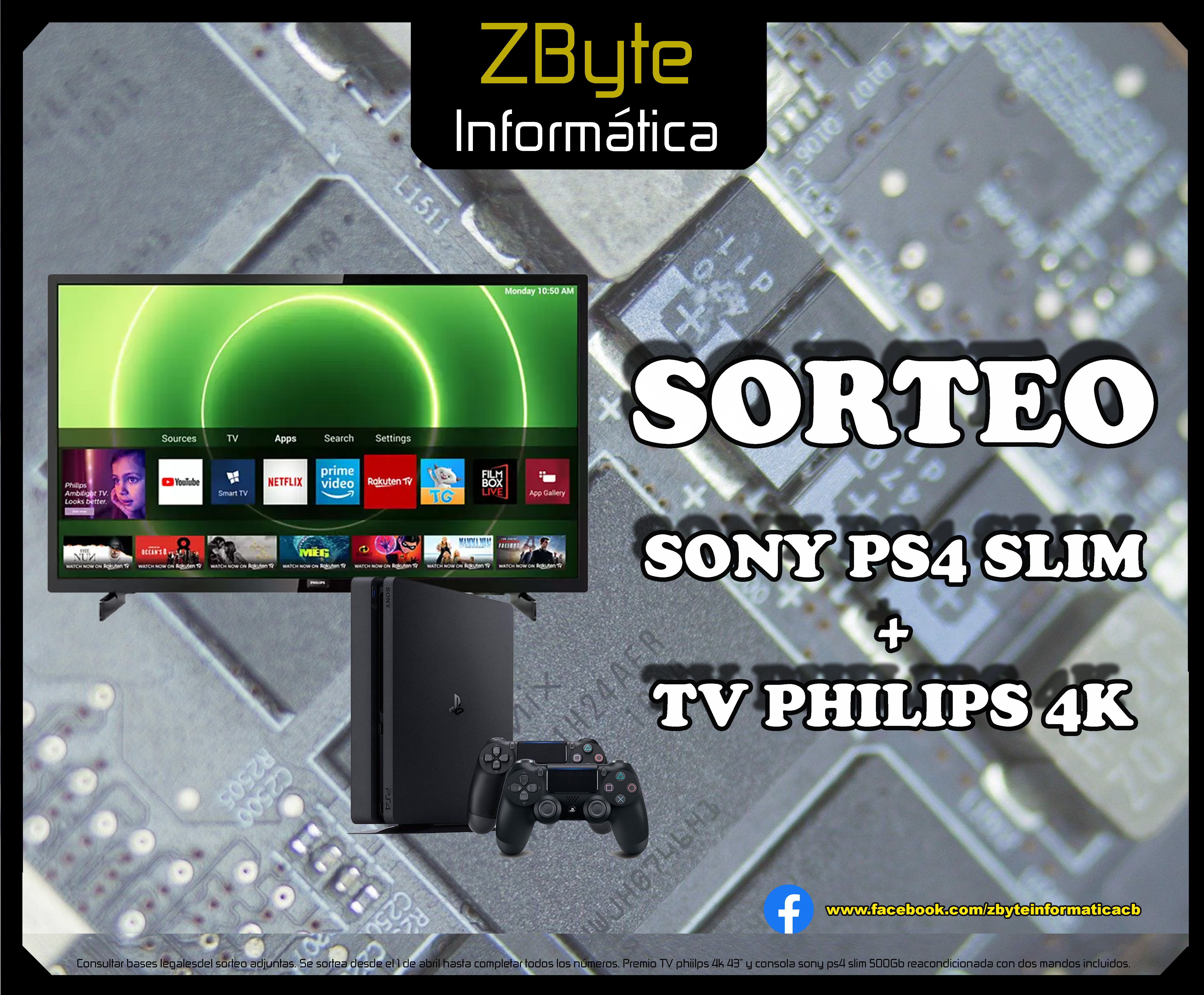 Ver Sorteo TV+PS4