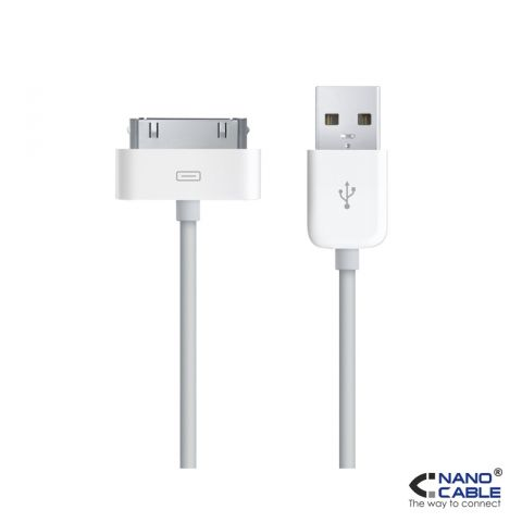 CABLE NC USB 30 PINES 1M PARA IPHONE 4S /IPAD 3