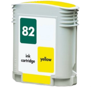 CARTUCHO REMANUF.  Nº 82 AMARILLO (69 ML)
