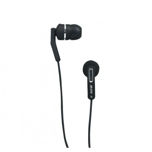 AURICULARES MP3 MTK EARPHONE HD 01020022 BLACK