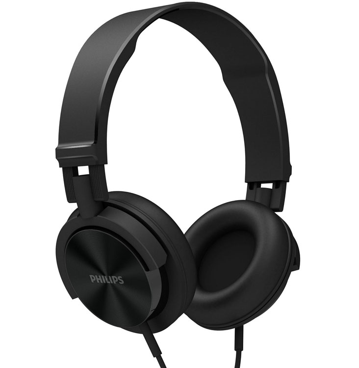 AURICULARES PHILIPS SHL3000RD NEGRO